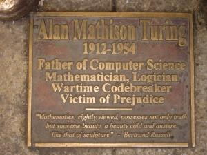 Alan Turing Memorial, Sackville Park, Manchester